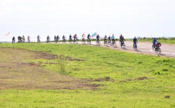 Лыжники пересели на велосипеды в День города Можайска