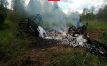 Трое человек погибли при крушении самолёта в Бородино