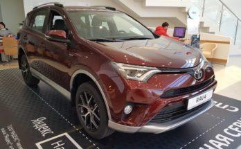 Toyota RAV-4 за 2 млн руб. угнали в Можайском районе