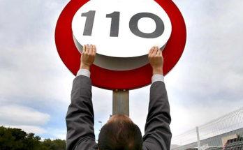 На Минском шоссе ограничат разрешённую скорость