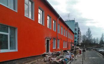 Школа-сад в п. Химик погрязла в ремонте