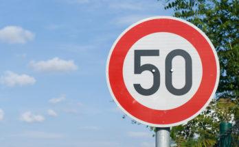 Скорость движения на Можайском шоссе ограничат до 50 км/ч