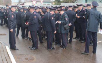 Полиция Можайска перешла на летнюю форму одежды