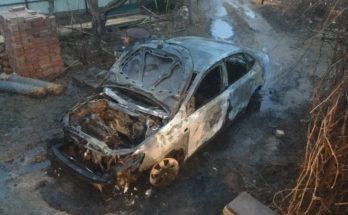 В Борисово сгорел автомобиль депутата