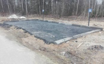 На кладбище «деньги закатали в асфальт»