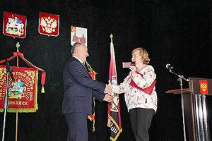 Василий Овчинников официально вступил в должность мэра Можайска