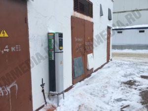 Зарядная станция для электромобиля в Можайске работает почти год