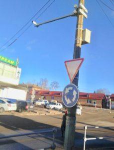 Две камеры контроля дорожного движения установили в Можайске