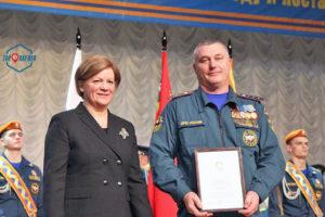 Водителя пожарной части Можайска наградили