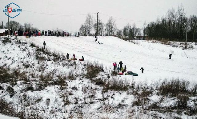 Лыжная (лыжероллерная) трасса в Можайске