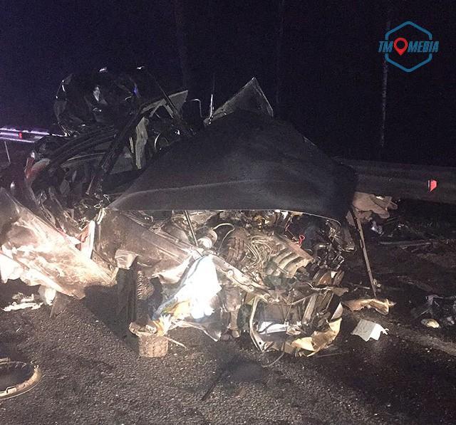 Лобовое столкновение на Минском шоссе - трое погибли